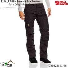 Fjallraven Celana Panjang / Celana Gunung Barents Pro Trousers M Dark Grey - Dark Grey Origina