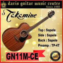 Takamine Gn11Mce Acoustic / Electric Guitar (2 Days Delivery)