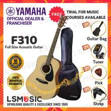 Yamaha F310 Acoustic Guitar 41 Inch Full Size - Natural Gitar Akustik Beginner Complete Package With Accessories