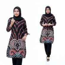 Batiku Tunik Batik Wanita Atasan Batik Original Lova