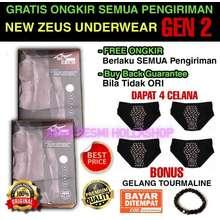 Zeus Terlaris Underwear Celana Dalam Kesehatan Pria Buy 2 Get 2 Dijamin Resmi Dan Original 100%