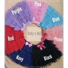 TuTu JUAL Skirt -Rok Layer Lucu -Fashion Anak Kids (Int:3-5 thn, pink)