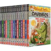Scholastic Geronimo Stilton Cavemice #1-15 Childrens Fiction Book