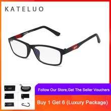 KATELUO COD+Pengiriman Gratis TUNGSEN CARBON STEEL Kacamata Import 100 %  Anti Lelah Tahan Radiasi b38f7dce62