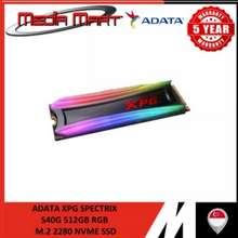 ADATA Xpg Spectrix S40G 512Gb Rgb Ssd