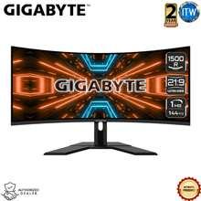 "GIGABYTE G34Wqc 34"" Va 1500R, 1Ms(Mprt), 144Hz, Vesa Display Hdr400, Curved Gaming Monitor"