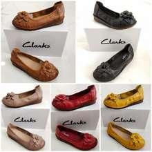 Clarks Sepatu Wanita Flower 875 Flat Termurah