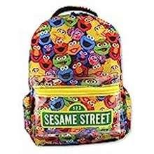 Sesame Street Sesame Street Gang Elmo Boys Girls Toddler 16 Inch School Backpack (One Size, Multicolor)
