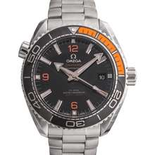 Omega Seamaster Planet Ocean 600M Co-Axial Master Chronometer 43.5 mm Automatic Black Dial Steel Men's Watch