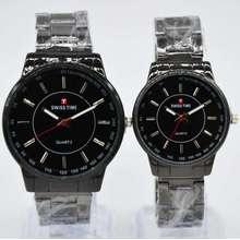 Swiss Time Swiss Time/Army - Jam Tangan Couple Stainless Steel - terbaru st5779