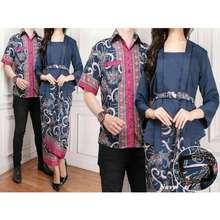 DeCouple Baju Wanita DE Couple Baju Batik Couple Kebaya Kutu Baru Kemeja  Pria Modern (ntasi 5df9667a7c