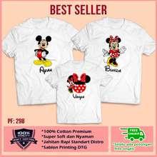 Mickey Mouse Kaos Baju Keluarga Kaos Ultah Kaos Couple Motif