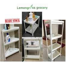 IKEA Ikea Vesken Shelf Unit Kitchen Bathroom Shelf Trolley Shelf Rak Tandas Dapur