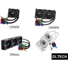 aigo Darkflash Tracer Dt-120 / Dt-240 / Dt-360 Aio Liquid Cpu Cooler 120Mm / 240Mm / 360Mm Support Intel And Amd