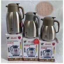 Zelex Stainless Steel Vacuum Coffee Pot 1.2Ltr /1.5Ltr /2.0Ltr