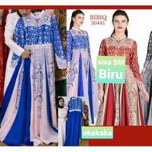 Bibiq Gaun Pesta Muslim / Gamis Brokat / Gaun / Gamis / Gaun Prewedding / Gaun Pesta Murah / / Brokat