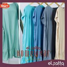 Elzatta Official Daster Polos Lussy Home Wear - Fit To L