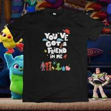 Toy Story Kaos You Ve Got A Friend In Me Hitam Xxl