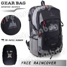 Gear Bag Tas Ransel 13089 - The Real Adventure .Pts Laptop Backpack 13089 + Free Raincover