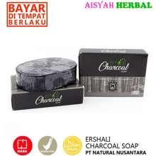 """NASA HERBAL """"(Original Sabun Herbal Alami) ERHSALI CHARCOAL SOAP Asli NASA Sabun Penghilang"""