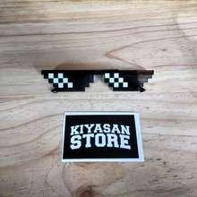 Minecraft Kacamata Thuglife Kacamata Kacamata 8Bit