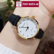 HALEI Cặp Đồng Hồ Đôi Nam Nữ Dây Da Chính Hãng Tony Watch 68