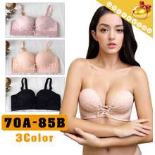 ba7e3a56eac10 Golden Egg Sweet Lacy Bra 3D Cutting n No trace Seamless Underwear-3 colors  32