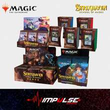 Magic The Gathering Mtg Strixhaven - Set Booster/Draft Booster/Collector'S Booster/Commander Deck