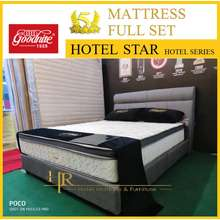 Goodnite Hotel Series 5 Star Hotel Star Mattress Full Set Free Hotel Pillow /Free Delivery Klang Valley(West Malaysia)