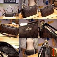 Coach [Original 100%] Bag F36674 Shoulderbag/ Tas Slingbag Mini/Best Seller Mini Bag