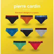 Pierre Cardin Clearance (5 Pcs In A Pack) Men'S Mini Briefs Underwear - P3Mix-5M Assorted Designs & Assorted Fabrication