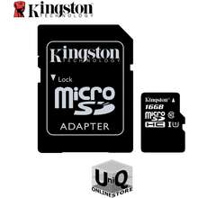 Kingston Microsdhc Class 10 Uhs-I 16Gb With Adapter