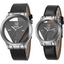 BARIHO นาฬิกาคู่รัก กันน้ำ (ราคาตามป้ายคือ 1 คู่ มีสองชิ้น ) กันน้ำ (แถมกล่องสวยหรู) รุ่น A112