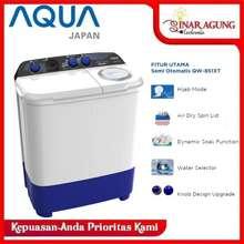Sanyo Mesin Cuci 2 Tabung AQUA By QW 851XT 8KG