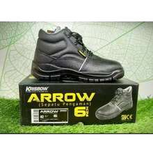 Krisbow Sepatu Pengaman Sepatu Safety Arrow 6Inch Size Ukuran 43 0015ecaa90