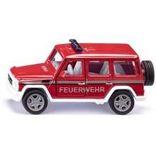 Siku (S2306) Mercedes AMG G65 Fire Command Car Toys for boys