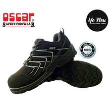 Oscar Safety Shoes Safety Shoes Explorer 171 Black – Lace Up Low Cut Shoes