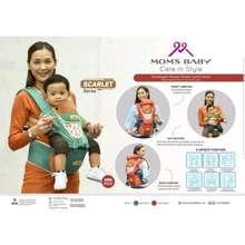 Mom's Baby Mom'S Baby Gendongan Bayi Hipseat & Ransel Bisa 6 Posisi Mildy Series - Mbg 2021