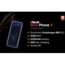 ASUS ROG Phone 5 Phantom White 128GB 12GB Singapore