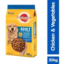 Pedigree Dog Dry Food Adult Chicken & Vegetable Flavour 20Kg Dog Food