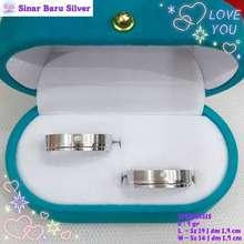 Sinarbaru Cincin Silver 925 Cincin Couple Perhiasan Cincin Perak