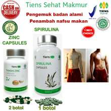 Tiens Penggemuk Badan Herbal - Paket Hemat / Vitamin penambah nasfu makan utk anak2 & dewasa