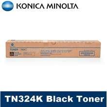 Konica Minolta [Original] TN324 Black Cyan Magenta Yellow Toner Cartridge for Bizhub C258 C308 C368 A8DA190 A8DA290 A8DA390 A8DA490TN 324 tn324k tn324c tn324m tn324y
