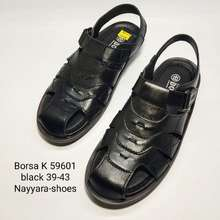 Borsa Sandal Sepatu Sandal Kulit Sandal Pria Sendal Pria