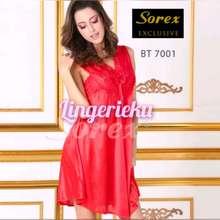 Sorex Baju Tidur Wanita Satin Halus Premium Lingerie Exclusive Bt 7001