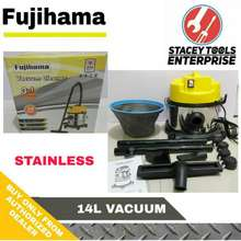 Fujihama Vacuum Cleaner 14L Stainless (3 In 1) Wet Dry And Blower 14Liters 14 Liters