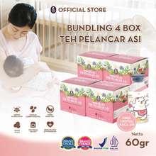 Mama Bear Mamabear Teh Pelancar Asi / Asi Booster / Booster Asi 4 Box Free Botol Asi Kaca