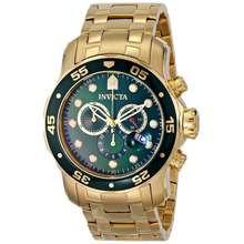 Invicta Pro Diver Chronograph 200M 0075 Mens Watch
