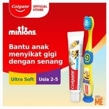 COLGATE Kids Minions Toothpaste/Pasta Gigi 40 gr + Kids Minions Toothbrush/Sikat Gigi 2-5 tahun