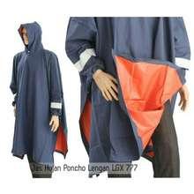 Penguin jas hujan poncho karet lgx 777 super tebal 4728927ea2